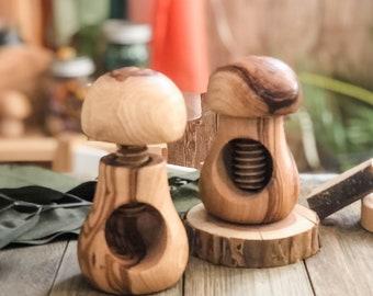 Olive Wood Nutcracker