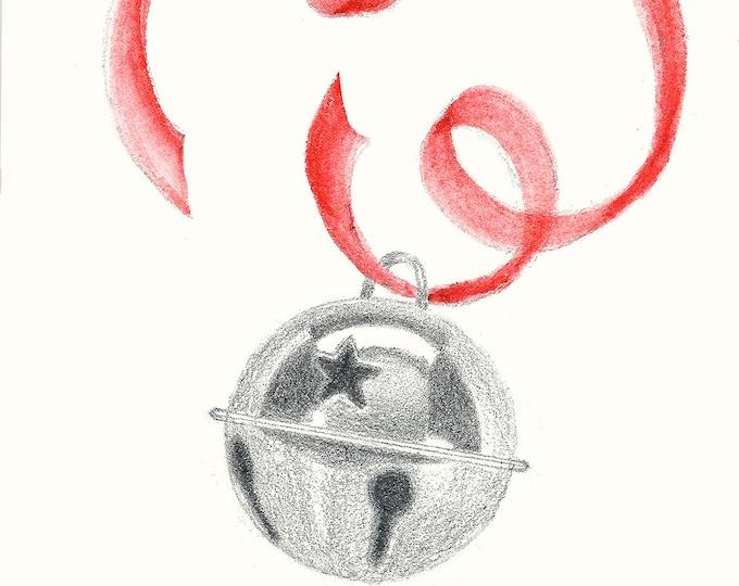 238 Jingle Bell Drawing Card