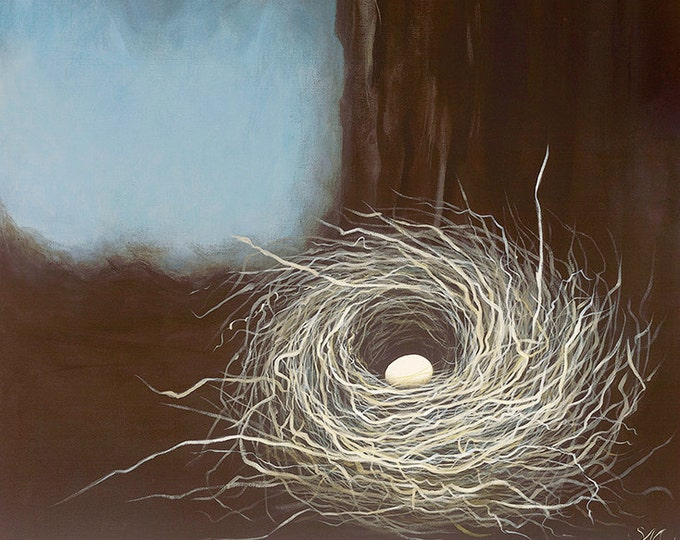 171 Nest In A Tree Card