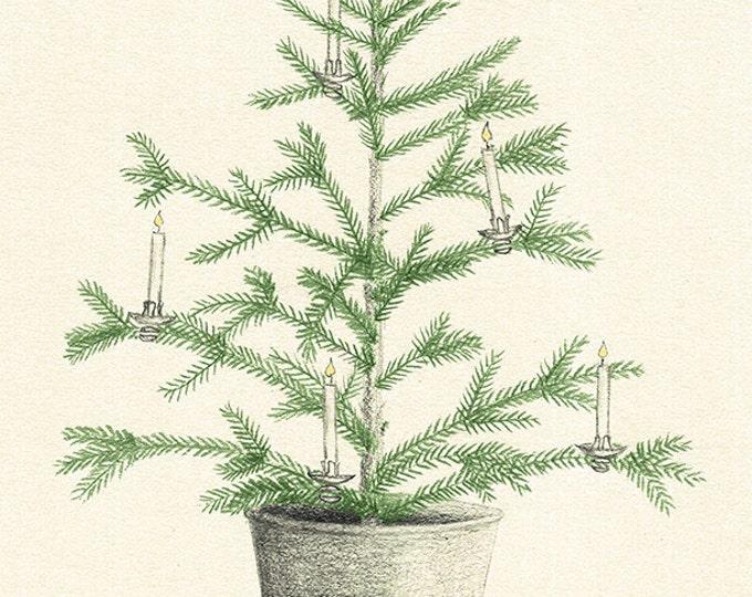 156 2nd Annual Christmas Tree card