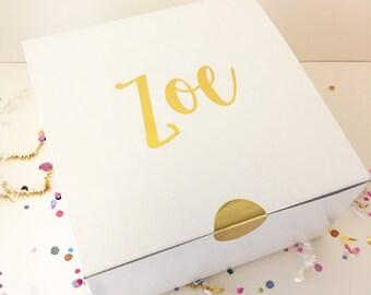 Bridesmaid Gift Box Bridesmaid Boxes Personalized Gift Box Bridesmaid Personalized Bridesmaid Box