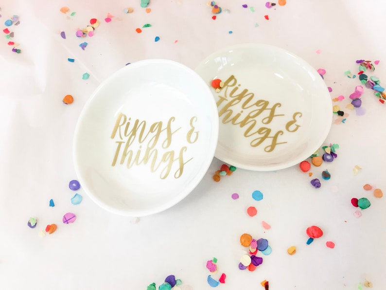 BRIDESMAID Gift Ideas Personalized maid of honor gift Personalized Ring Holder Dish Wedding Ring Dish Engagement Gift