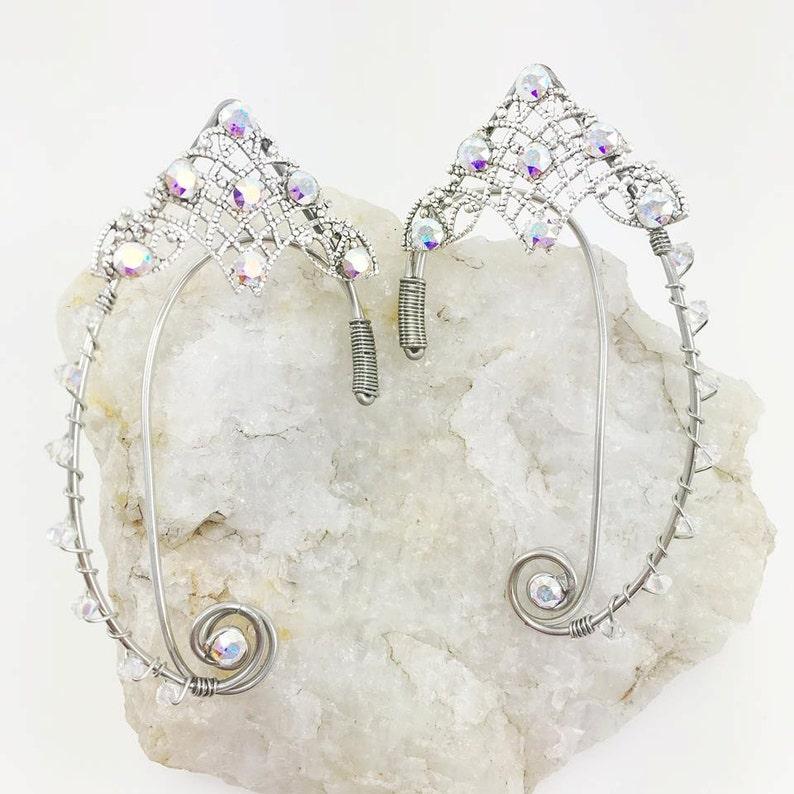 Elven Ear Cuff  Elf Ears  Fairy Ear Cuffs  Elven Ears  image 0