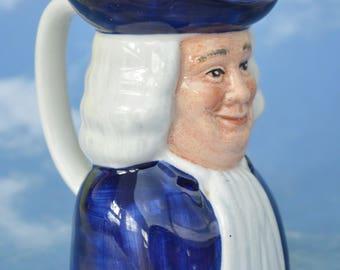 Quaker Oats William Penn Mini Jug Vintage Wood and Sons Advertising Memorabilia Porridge Breakfast Table American History Cooks Chefs Gift!