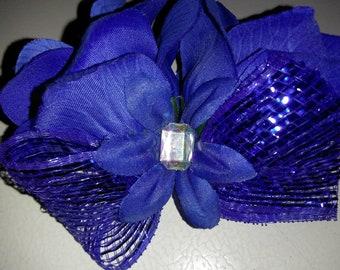 Royal Blue Corsage