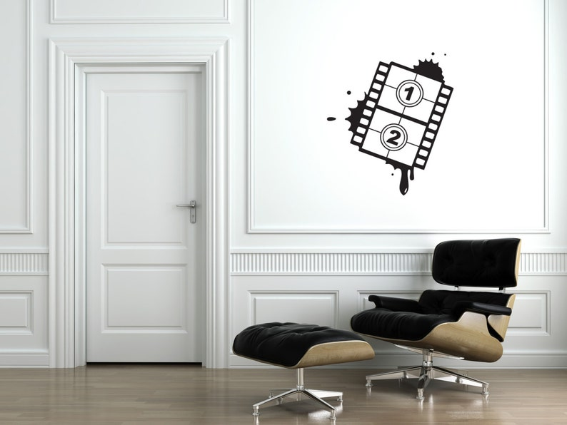 Film Strip Wall Decal-Removable Wall Art Sticker-Movie image 0