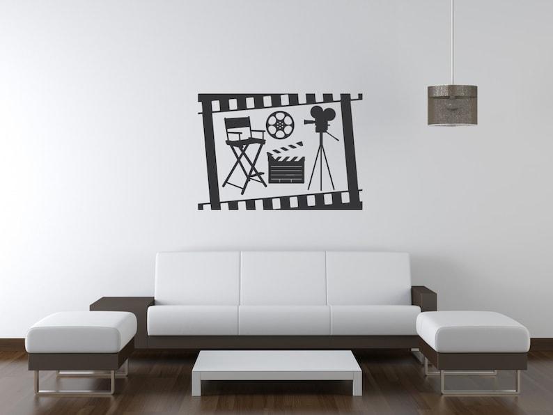 Film Strip Box & Cinema Wall Decal-Removable Wall Art image 0