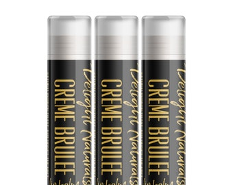 Creme Brulee Lip Balm - Set of Three