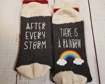 After every storm there is a Rainbow | Lucky socks