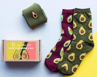 Avocado Box Of Socks