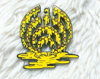 9f1fe05142f Bassnectar inspired Hat Pin - Nectar Drop