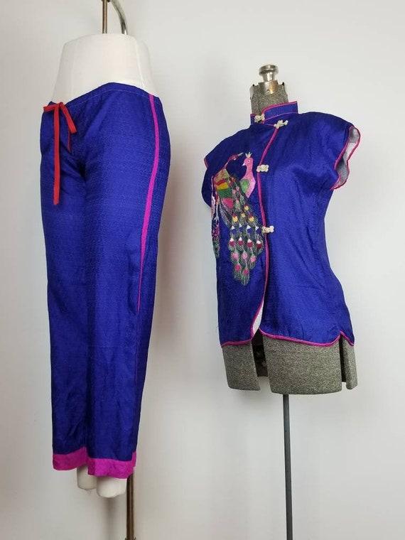 1950s Korean War Souvenir Pajamas   Seoul Korea So