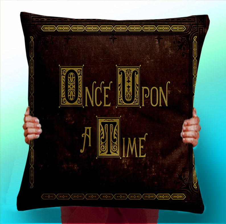 Once Upon a Time story Book  Cushion / Pillow Cover image 0