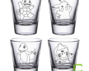 Pikachu Custom Shot Glass