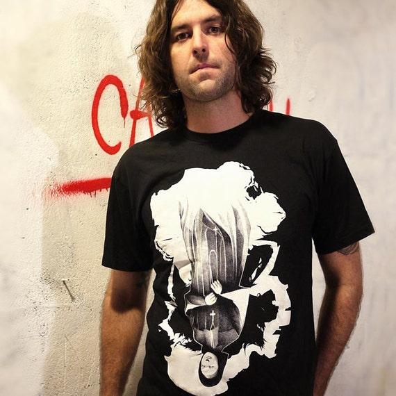 Evil Nun T-Shirt horror demon Unisex Mens