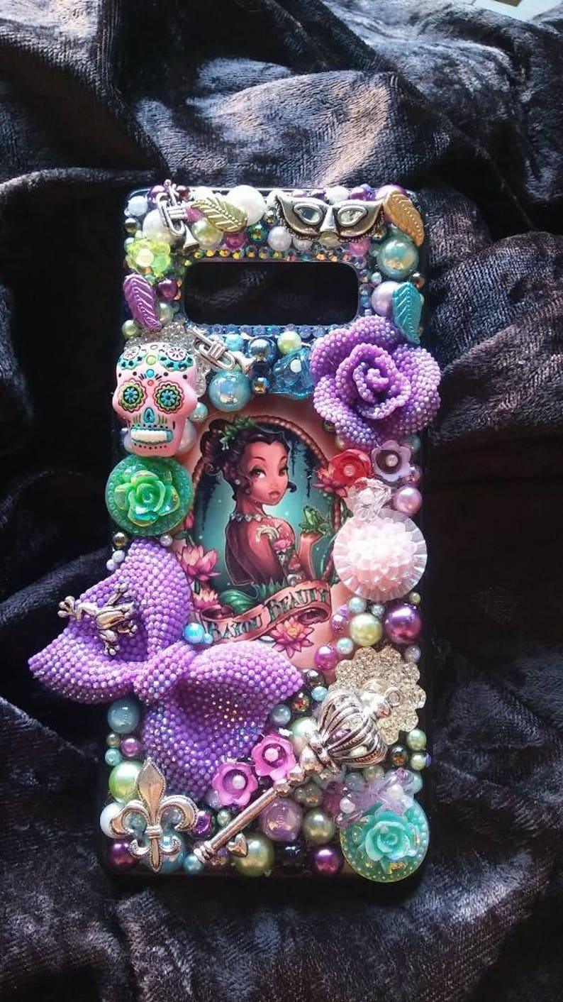 buy online 776e2 4b94d Princess Tiana Tumblr Samsung iPhone Case Note 5 6 7 8 9 Edge Plus Lg Moto  X Galaxy xs xr max 10