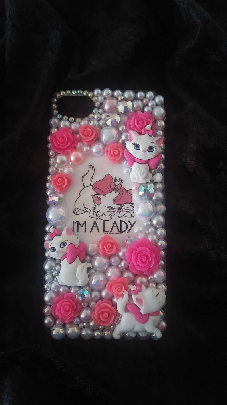the best attitude 5178c 1c841 Disney Marie Aristacats Im a Lady Tumblr Samsung iPhone Case Note 6 7 8 9  Plus Lg Moto X Galaxy xs xr max 10