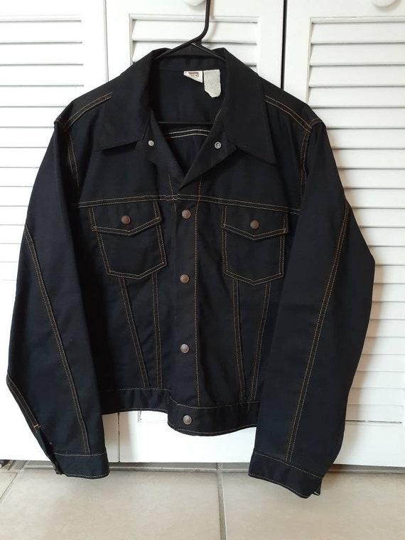 Montgomery Ward Vintage Rare Dark Wash Denim Jean
