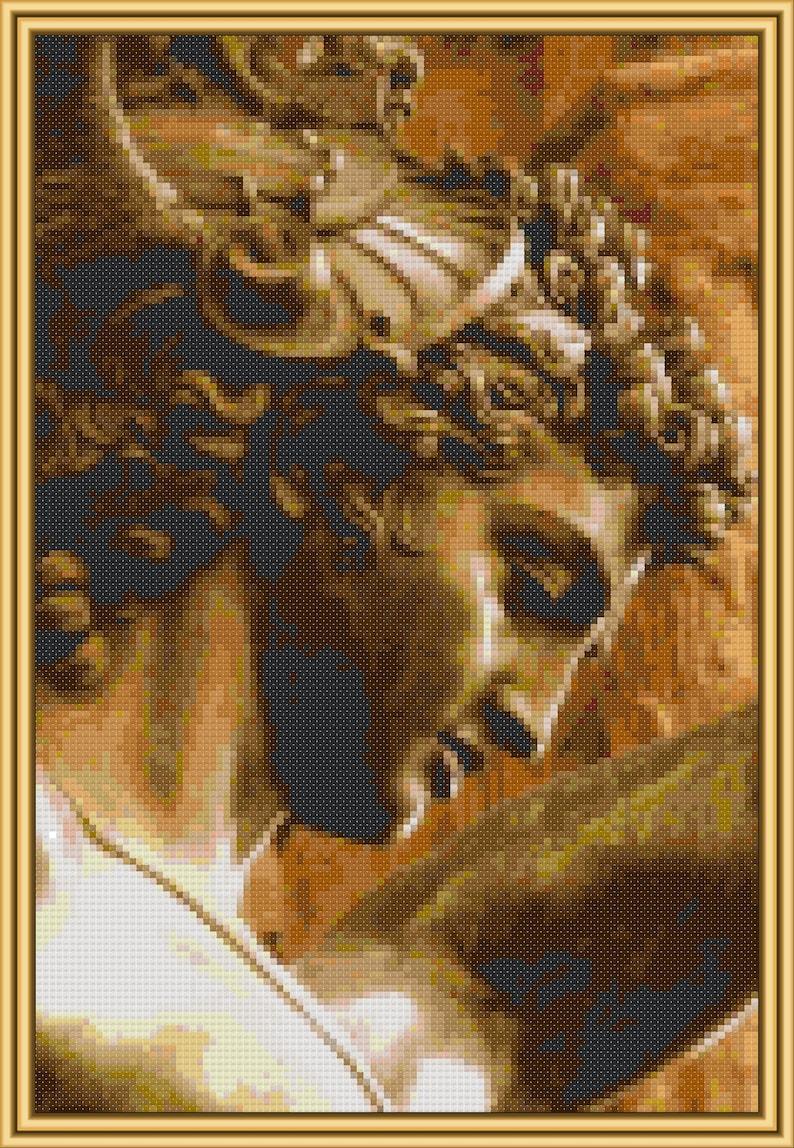 Perseus cross-stitch pattern PDF download