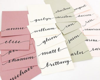 Tented Place Cards   Pink Wedding Cards   Burgundy wedding card   Blush place cards   Sage Wedding   Pink Wedding Decor   Sage Place Card