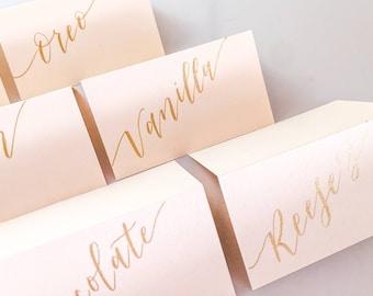 Dessert Bar Cards | Wedding Dessert Labels | Wedding Dessert Sign | Wedding Table Cards | Wedding Table Tents | dessert tags | food labels