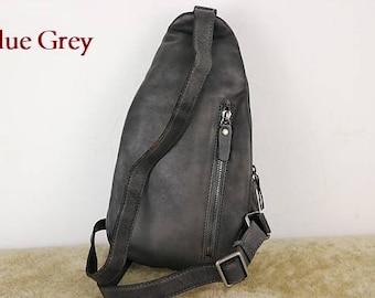 c0f85ba39d Leather sling bag