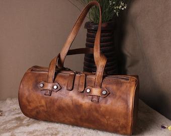 Leather Duffel Bag, Travel Bag, Overnight Bag, Weekender Bag, Duffle Bag, Gym Bag, Leather Sports Bag, Camera Bag