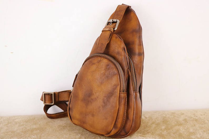 74418597d1ad Sling Bag Backpack Leather Sling Bag Womens Shoulder Bag