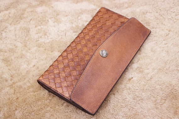 b615f3fcc598 Father s Day Gift Personalized Men s Leather Wallet