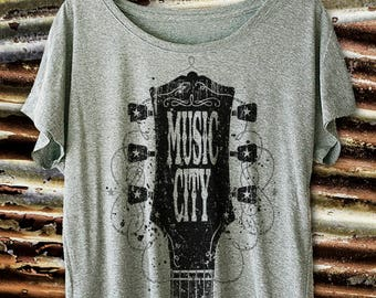 Music City Dolman Sleeve. Country Music Shirts. Country T Shirt. Country Music Concert. Music Festival. Country Music Shirts.