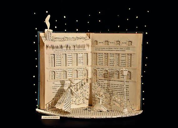 Paper Sculpture Fineart Postcards Thumbelina COMPLETE SET 5 CARDS