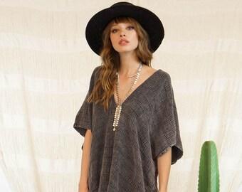 80f4a54bdc9 SALE Nomad Kimono Vintage Black