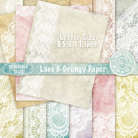 Lace digital paper Denim Dirty Grungy Papers and Clean Pages Background Light Blue Jeans Texture Fabric UCU 8.5x11 inches Instant Download