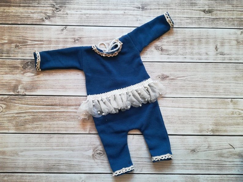 photography Prop romper Baby girl romper Newborn girl outfit photo Prop
