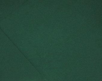 Dorr Solid HOLIDAY GREEN #519, 100 Percent Wool fabric. Order your choice of size.