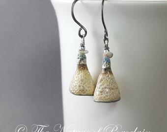 Artisan Porcelain Earrings