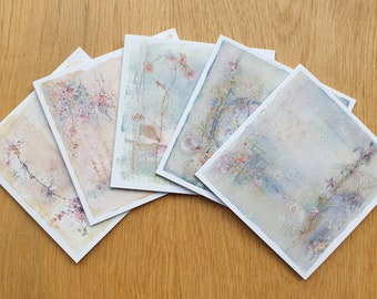 Luxury Hand Finished Greetings Cards - Original Designs from Emma Louise Wilson