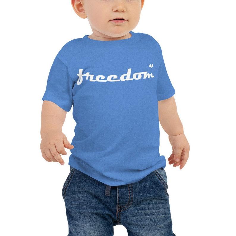 2589fb624e Freedom Bird/ Baby Jersey Short Sleeve Tee/ size 6-24 months | Etsy