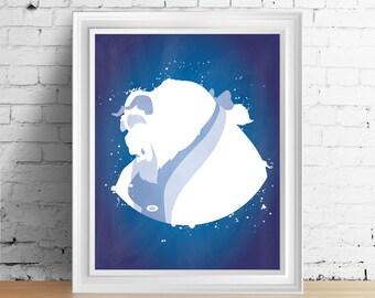 Disney Beast downloadable digital art print