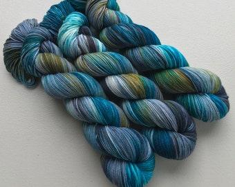 Sea Glass Hand Dyed Yarn