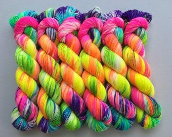 OOAK Hand Dyed Yarn