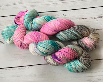 Hand Dyed Superwash Merino/ Nylon Sock Yarn
