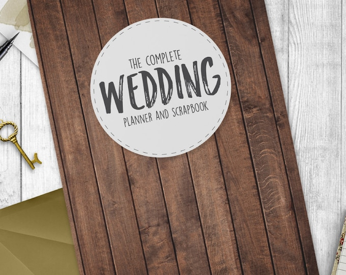 Wedding Planning Book / Diary / Journal - The Complete Wedding Planner & Scrapbook