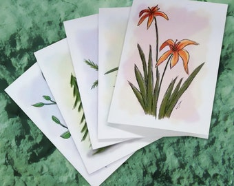 Nature Handmade Note/Greeting Cards/Stationery