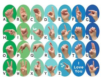ABCs of Salvation - Alphabet Sign Language Cards