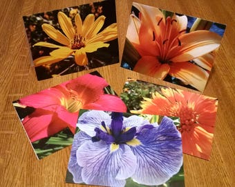 Flower Photo Note Cards