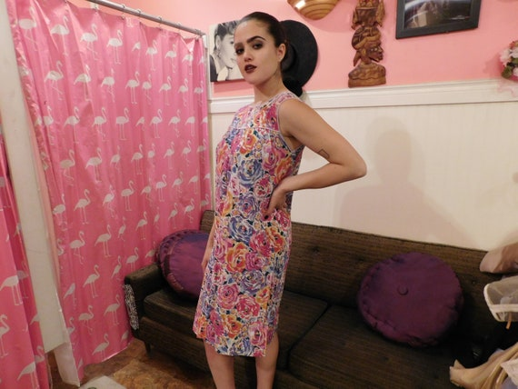 Cotton Farm Dress / Size Medium / Summer dress  1… - image 8