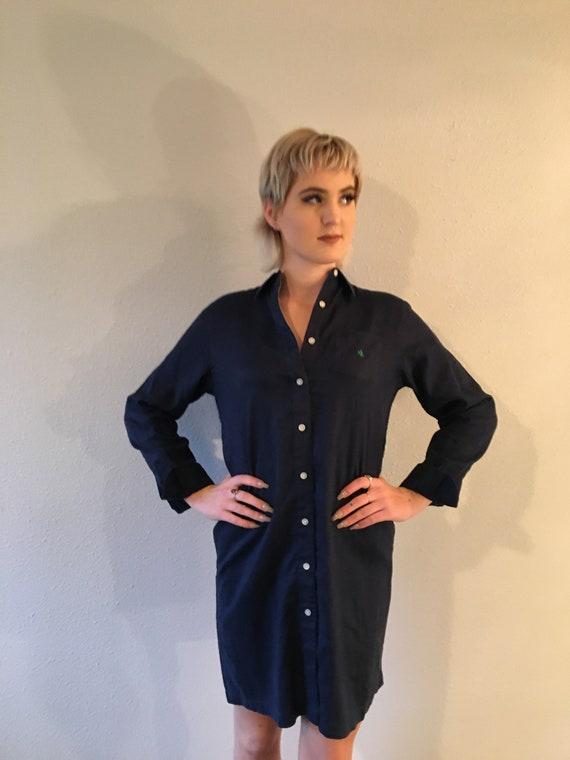 Ralph Lauren linen shirt dress