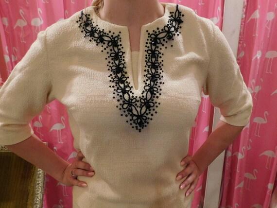 Vintage  Skirt set  R&K  original  knit set/ 1960… - image 5