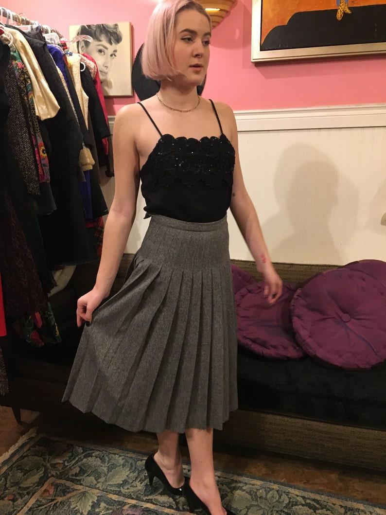 Brooks Brothers  Wool Skirt gray  size XS